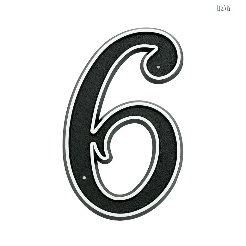 150mm Big Modern House Number Hotel Home Door House Number House Number 6