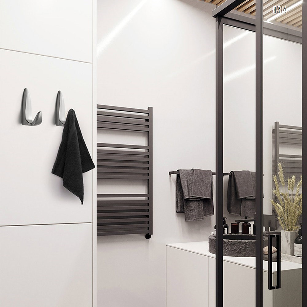 Black New high-end simple single coat hook Nordic Light luxury gold kitchen bathroom hook fitting room hook