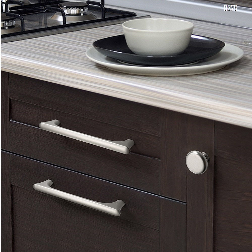 Wire Pull  Zinc Alloy Kitchen Cabinet Handles Drawer Pulls Hole spacing 192mm