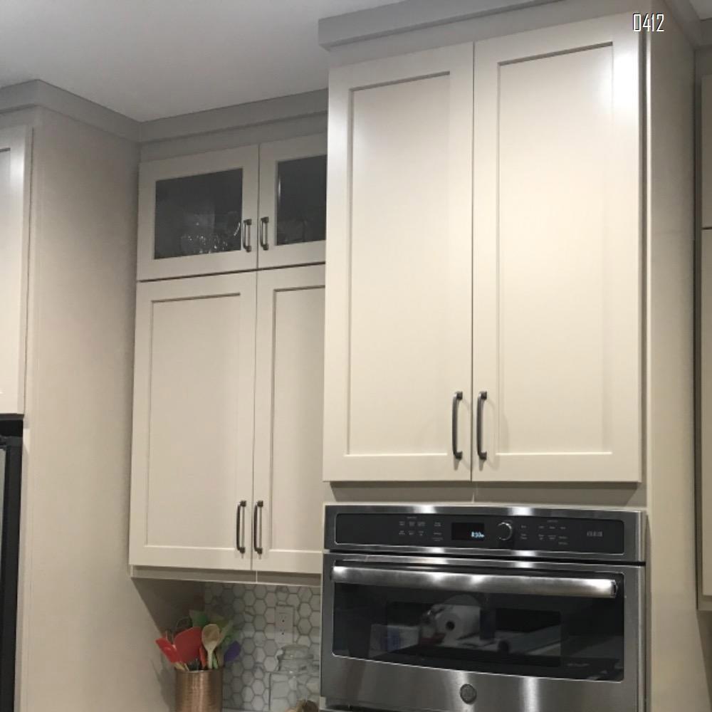 Black Furniture Handle, 5 Inch/128mm Screw Spacing, Kitchen Cupboard Door, Bedroom Dresser Drawer, Bathroom Wardrobe Hardware Drawer Handles