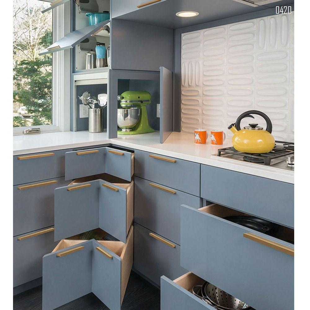 Matt Black And Gold Cabinet Door Handles and Pulls, Furniture Drawer Handles, Aluminium Alloy, 120mm Long, Kitchen Cabinet Wardrobe Knobs Bars, Center to Center 96mm