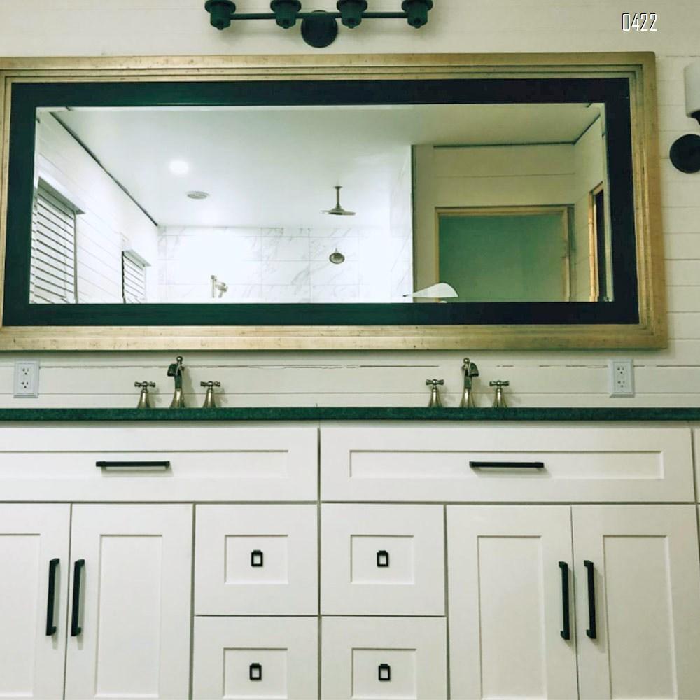 Modern  Square Drawer Pulls Zinc Alloy Kitchen Hardware Cabinet Handles, 320mm Hole Centers