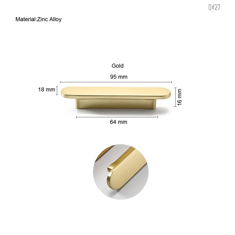64mm Hole Center Solid Zinc Alloy, Bar Handle Pull with A Fine-Brushed Satin Nickel Finish  Kitchen Cabinet Hardware/Dresser Drawer Handles