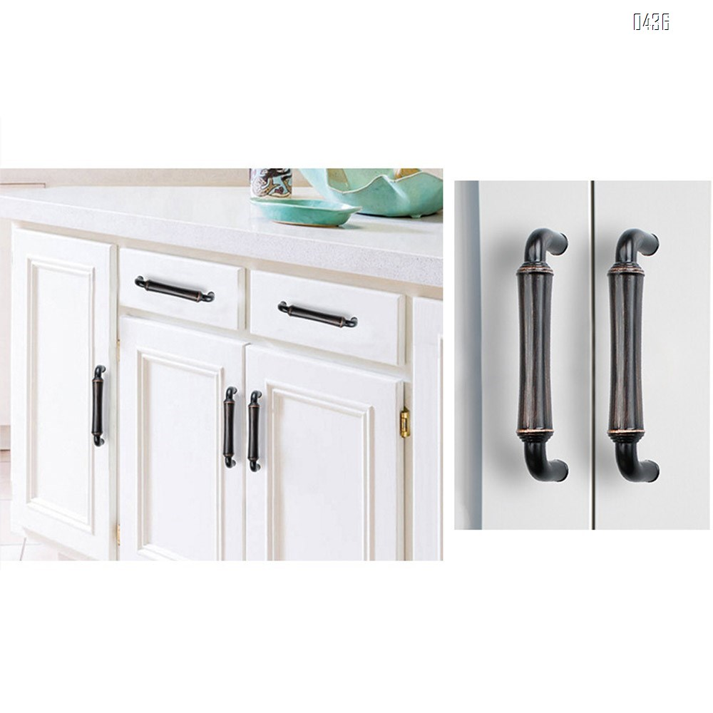 96 mm Hole Centers Cabinet Hardware Arch Twisted Kitchen Drawer Handle Pulls