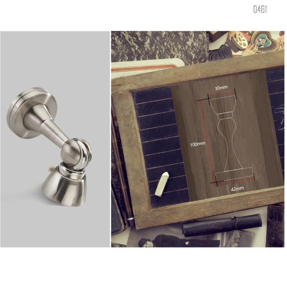 Magnetic Door Stop Door Holder Catch Stopper Heavy Duty Screw Floor/Wall Mount