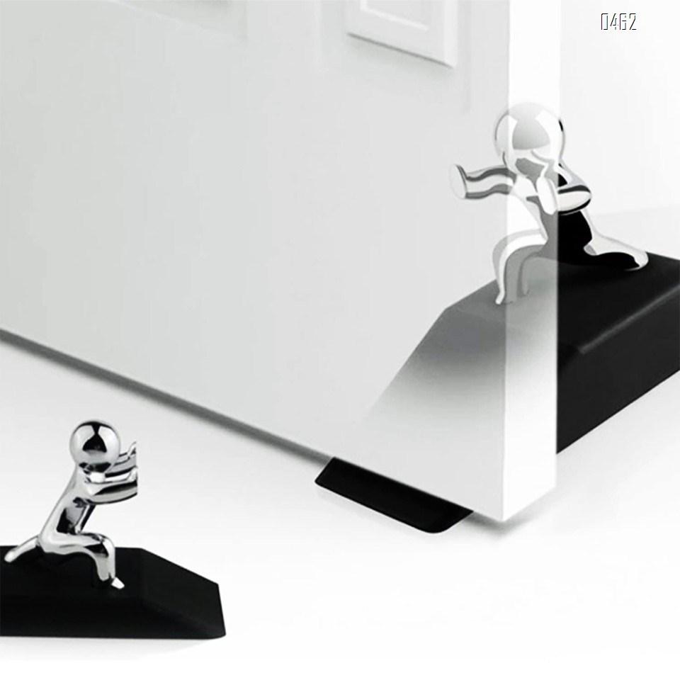 creative idea Kungfu Man Door Stopper Doorstop Rubber door
