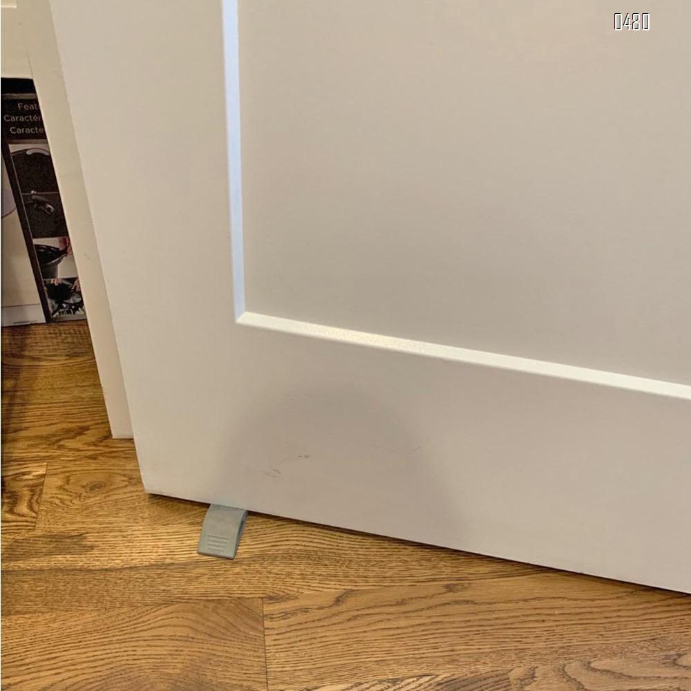 Door Stopper Rubber Door Stop Wedge Security Door Stops With Door Holder Rubber Door Stoppers Works On All Floor Types and Carpet Heavy Duty Door Jam