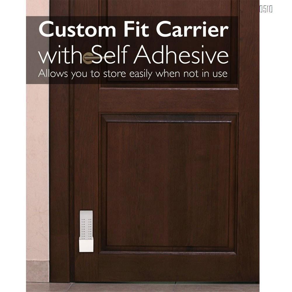Door Stoppers,Rubber Security Door Stop Wedge with Holder Door Stops for Office Tall Floor Mount Shower Heavy Duty Door
