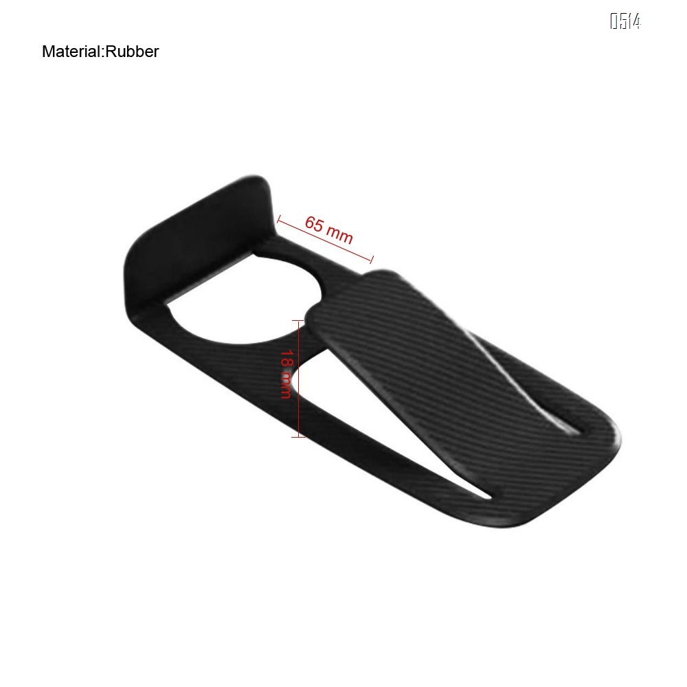 Door Stopper and Wall Protector (Black)