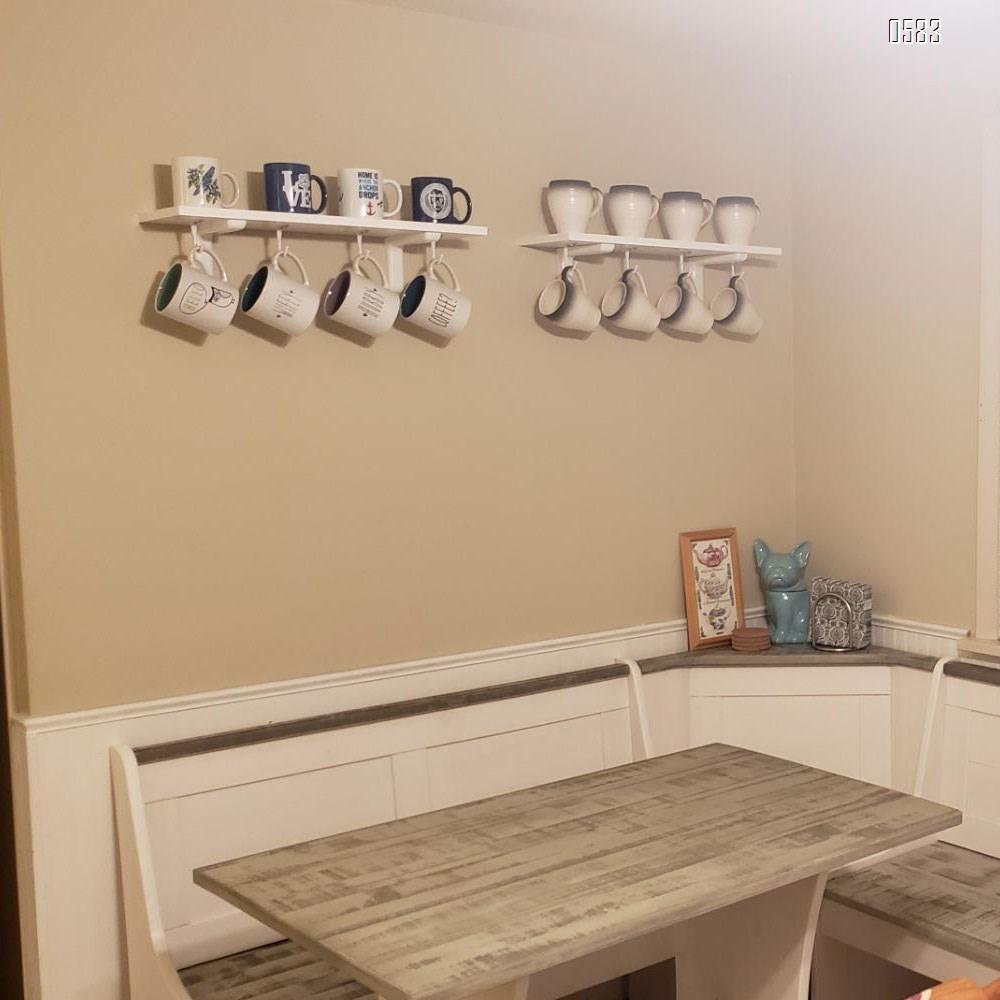 Ceiling Hooks Wall Single Hanger Hooks Coat Hat Towel Hook (Silver)