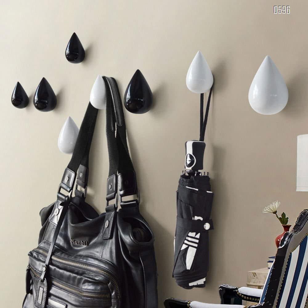 Wood Support Hot Simple Modern Decor Creative Coat Hanger Hooks Dressing Room Wall Decoration