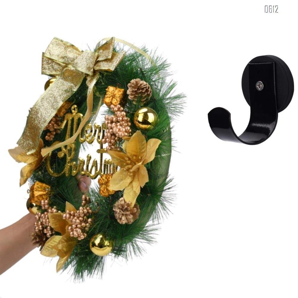 Magnetic Wreath Hanger for Front Door, Wreath Hook Wreath Holder for Metal Door