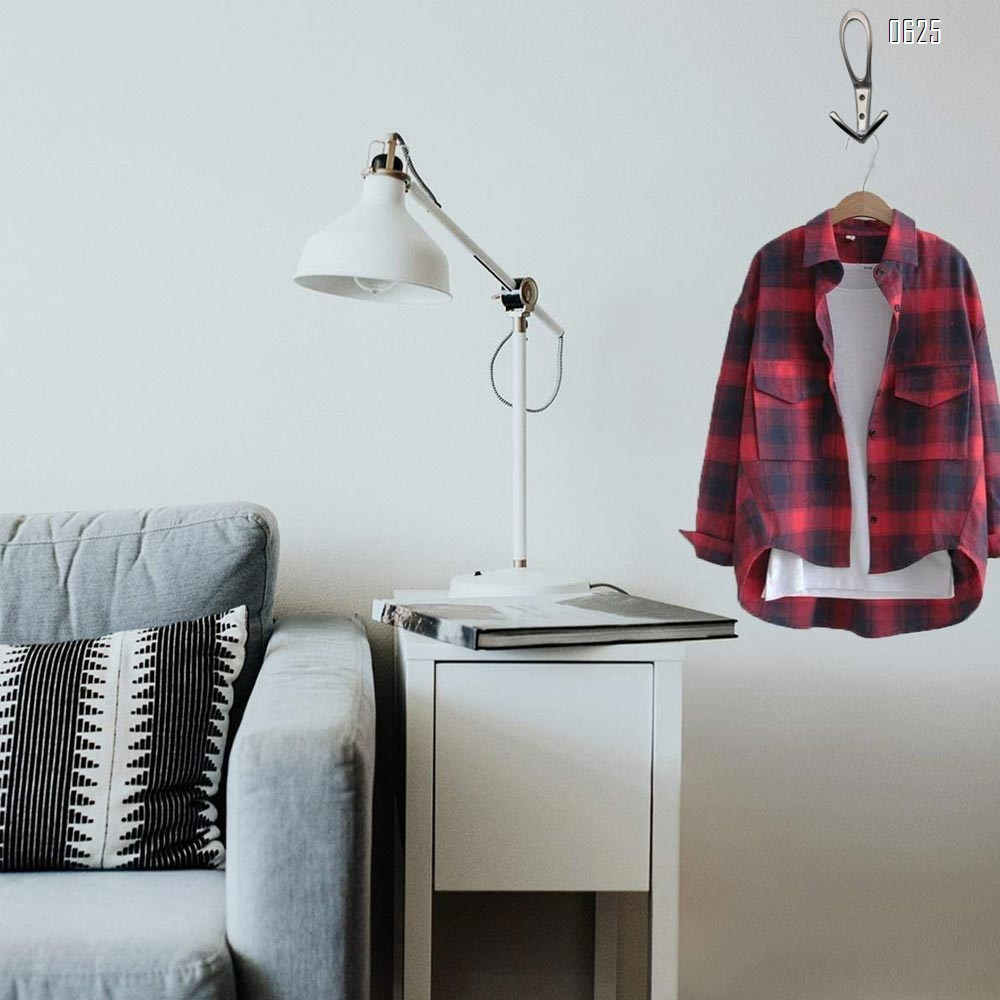 Wall Mounted Coat Hooks Heavy Duty Black Hardware Robe Hooks Decorative for Single Hanging Coats Towel Cubicle Classroom Kitchen Bath Backpack Hat Hook
