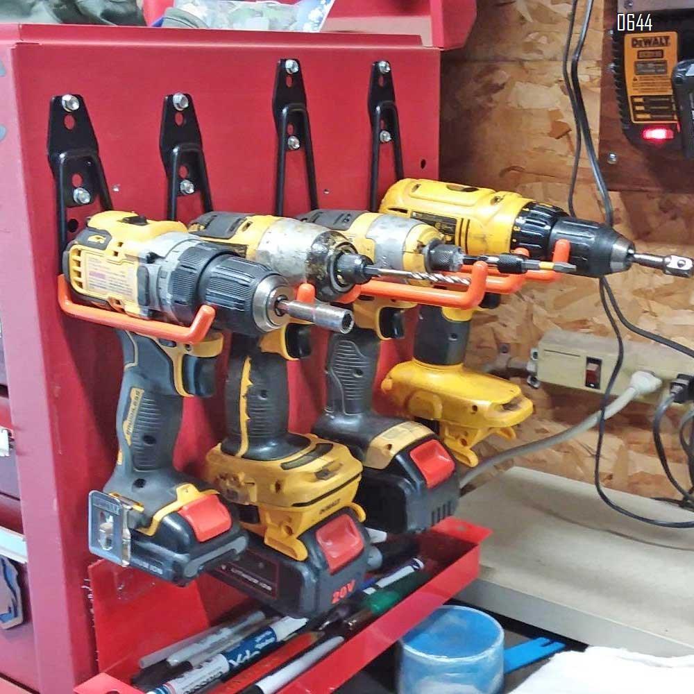 U Large Garage Hooks Heavy Duty , Steel Garage Storage Hooks, Tool Hangers for Garage Wall Utility Wall Mount Garage Hooks and Hangers with Anti-Slip Coating for Garden Tools, Ladders, Bulky Items